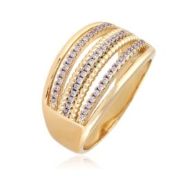 Pierścionek z kryształkami - Xuping PP2497