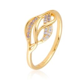 Pierścionek z kryształkami - Xuping PP2498