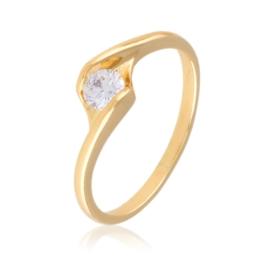 Pierścionek z kryształem - Xuping PP2475