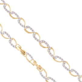 Bransoletka elegancka z kryształami Xuping BP5448