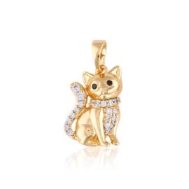 Przywieszka - kotek - Xuping PRZ2325