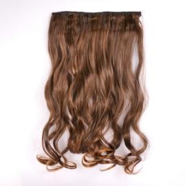 Sztuczne włosy clip in - 2T30 brąz - IN16