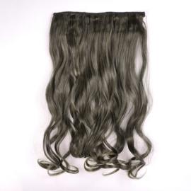 Sztuczne włosy clip in 1T24 popielate reflexy IN18
