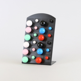 Kolczyki na paletce - 12szt - EA2590