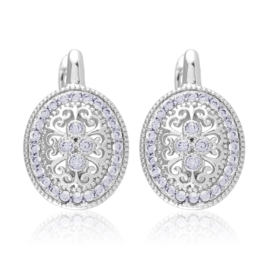 Kolczyki z kryształkami - Xuping EAP12597