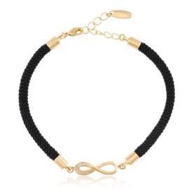 Bransoletka na sznureczku - infinity Xuping BP5472