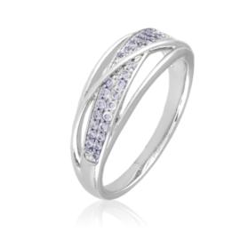 Pierścionek z kryształkami - Xuping PP2503