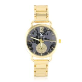 Zegarek damski na bransolecie - globe - Z1216