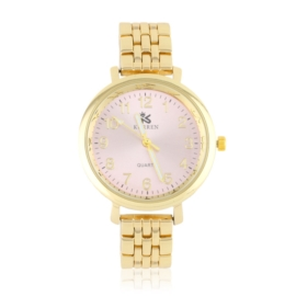 Zegarek damski na bransolecie - pink - Z1219