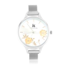 Zegarek damski na bransolecie - flowers - Z1221