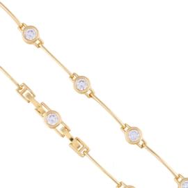 Bransoletka z kryształkami - Xuping BP5477