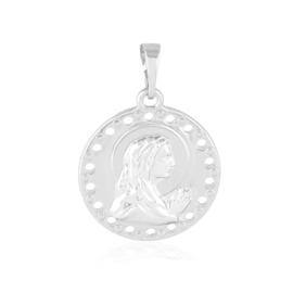 Medalik rodowany - 2,7cm PRZ2337