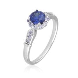 Pierścionek z niebieskim oczkiem - Xuping PP2508