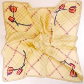 Chustka wiosenna apaszka - 70x70cm WO960