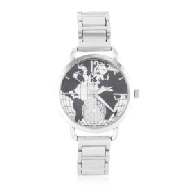 Zegarek damski na bransolecie - globe - Z1235