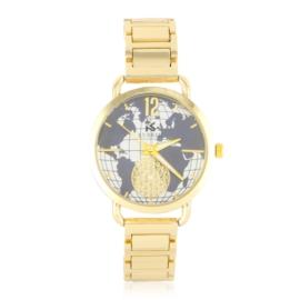 Zegarek damski na bransolecie - globe - Z1236