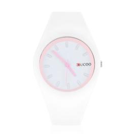 Zegarek silikonowy - biały - Z1239