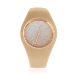 Zegarek silikonowy - brokatowy - Z1242