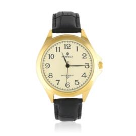Zegarek męski vintage - skórzany pasek - Z1245