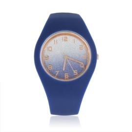 Zegarek silikonowy - brokatowy - Z1246