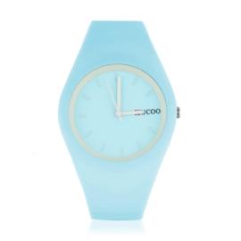 Zegarek silikonowy - błękitny - Z1247