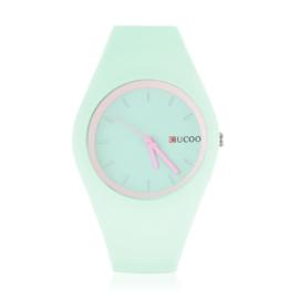 Zegarek silikonowy - pistacjowy - Z1249