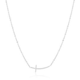 Celebrytka - stal - krzyżyk poziomy CP2817