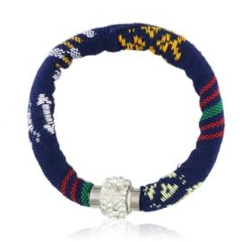 Bransoletka tekstylna na magnes - BRA1584