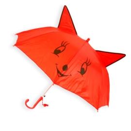 Parasolka dziecięca - czerwona - PAR72