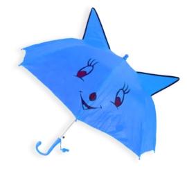 Parasolka dziecięca - niebieska - PAR74