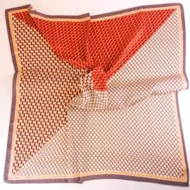 Chustka wiosenna apaszka - 70x70cm WO1003
