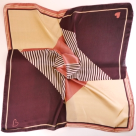 Chustka wiosenna apaszka - 70x70cm WO999