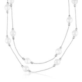 Naszyjnik z perełkami - Xuping CP2830