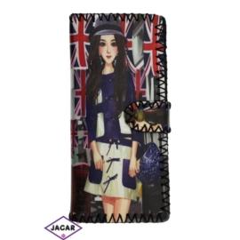Szykowny portfel damski z nadrukiem - P1055