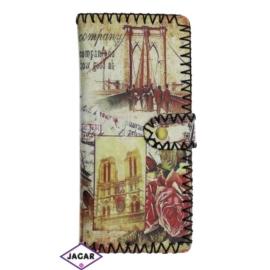 Szykowny portfel damski z nadrukiem - P1056