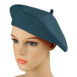 Beret damski Rabionek - ciemny niebieski - RB34