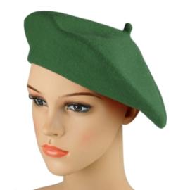 Beret damski Rabionek - ciemna zieleń - RB43