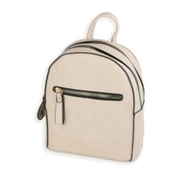 Plecak damski mały - beżowy - PL123