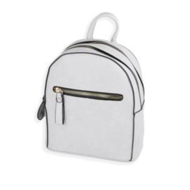 Plecak damski mały - szary - PL124