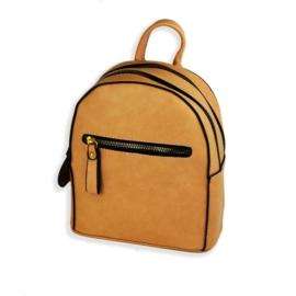Plecak damski mały - brązowy - PL125