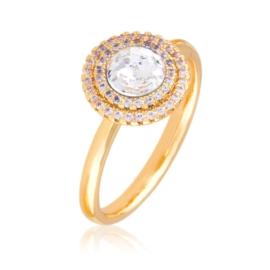 Pierścionek Swarovski crystal - Xuping - PP2535