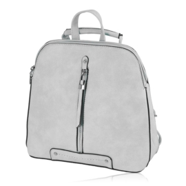 Plecak damski sztywny - szary - PL132