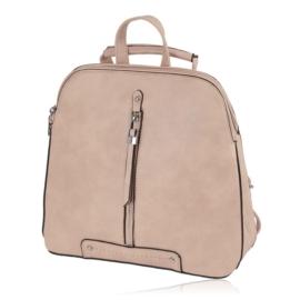 Plecak damski sztywny - różowy - PL133