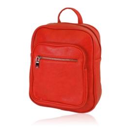 Plecak damski miejski - czerwony - PL139