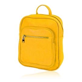 Plecak damski miejski - żółty - PL143