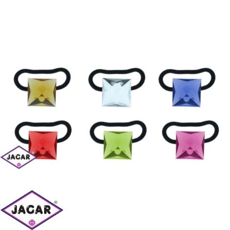 Gumki - kolorowe kwadraty - 6 szt/op - OG550