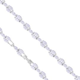 Bransoletka z kryształkami - Xuping BP5554