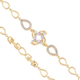 Bransoletka z kryształkami - Xuping - BP5603