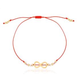 Bransoletka na czerwonym sznurku Xuping BP5612