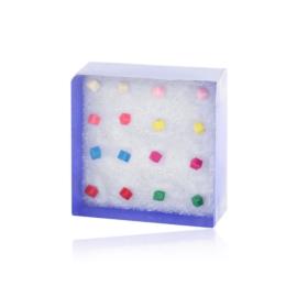 Zestaw kolczyków w pudełeczku - 6szt. - EA2701
